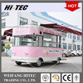 Ice Cream machine Food Trucks Mobile Food Trailer For Multifunction