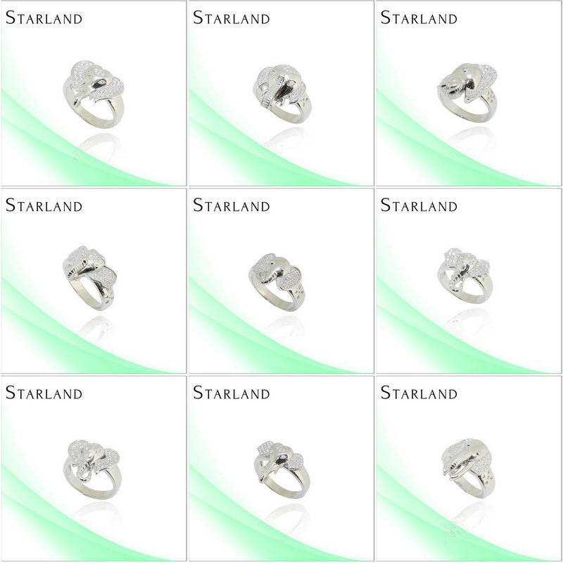 Starland <strong>fashionable</strong> Fine and noble Hot Sell Silver Ring Jewelry