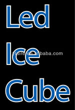 Flashing led ice cube with lighting for party Bar Ornaments Items Promotion Products