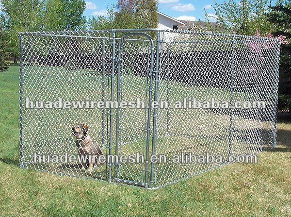 chain link dog kennels/dog yard fence/panel/dog cage