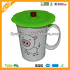 FDA Standard Eco friendly Cute Silicone Mug Cover for Coffee