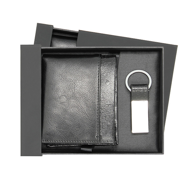 genuine leather wallet gift sets,man leather wallet,leather wallet