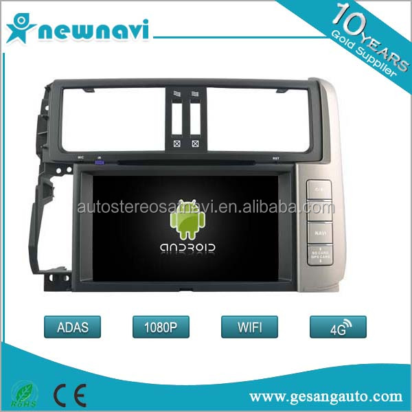 Car dvd Player Android 6.0 For TOYOTA PRADO 150 Supports Max 32G