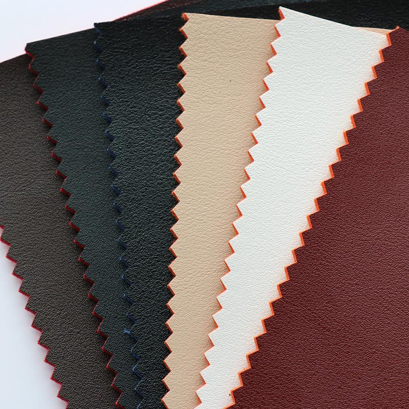 PVC synthetic leather material for shoes with high quality