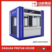 High quality elegant design modular prebuilt prefab container house for sale