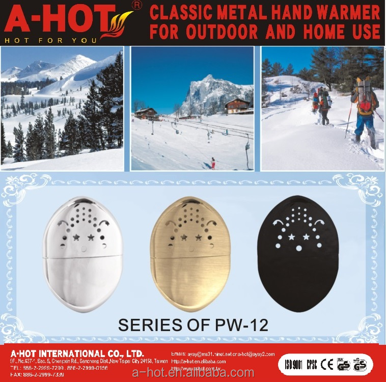PROMOTION GIFT PORTABLE PETROL HOT HAND WARMERS PW-12