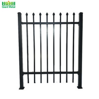 Wholesale Steel Wrought Iron Picket Fence