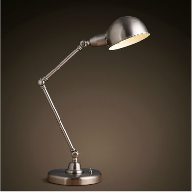 IkeaTask table lamp BAROMETER Work lamp with nickel plated Work lamp and Adjustable arm