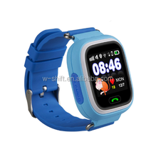 GPS Kids Smart Watch Q90 with Wifi Positioning Color Touch Screen SOS Tracker Safe Anti-Lost kids wrist watch