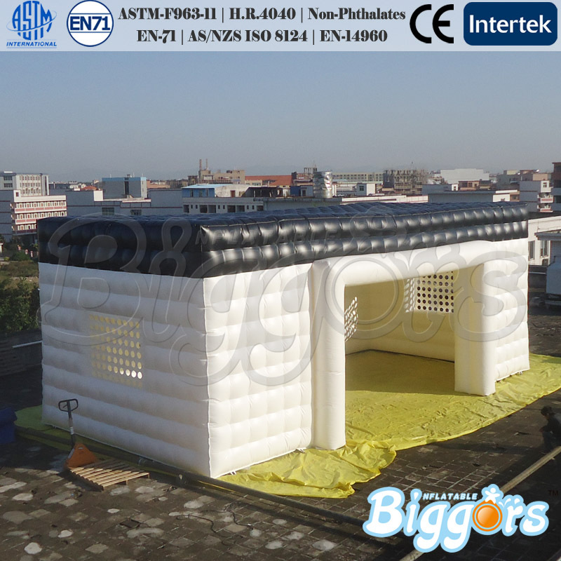 Corporate Event Giant Inflatable Shelter Booth For Trade Show