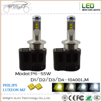 P6 55W D4s Led Headlight