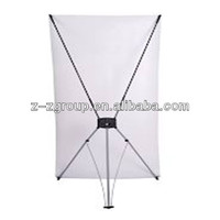 Portable Advertising Mini X Frame Banner Stand Z-Z Group