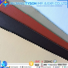 Embossed lichee pattern pvc synthetic leather for car seat cover