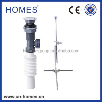 Easy Cleaning Plastic Lav Drain With Flexible pipe