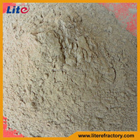 High Temperature Fireproof High Alumina Refractory Brick Mortar with High Adhesive Strength