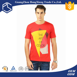 Low price silk screen red rock of the t shirts thailand