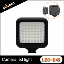 Mini Lighter Type Durable Quality Digital Camera LED Light Perfect Photo With 42 LEDs 6000K Studio LED Video Light Photography