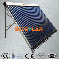 20 tubes solar collector split pressurized solar water heater