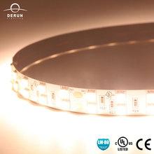 Warm white decorative light 5050 flexible led strip with UL