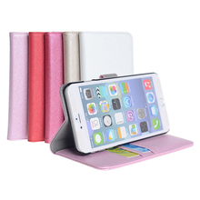 Colorful Cell Phone Case for iPhone 6s with Stand Function and Card Slots