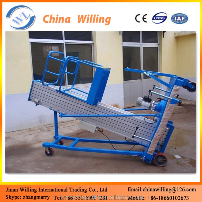 Electric Platform Lift/Vertical Mechanism Lift Aluminum Material