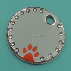 2015 hot sale pet tag with epoxy dome