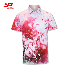 Wholesale 100% polyester dri fit moisture wicking sports clothing, custom design men golf shirt