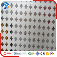 Good alibaba supplier 304 perforated metal stainless steel sheets