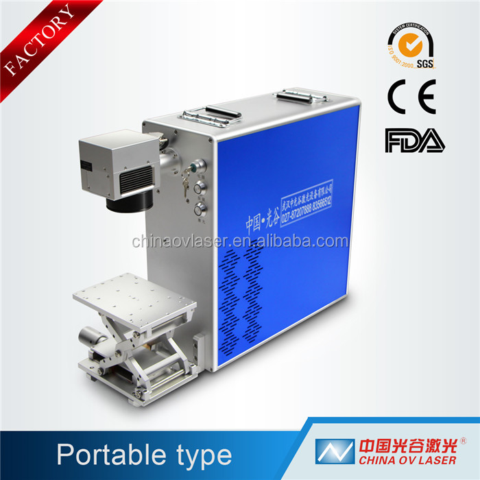 QR Code Fiber Laser Engraving and Marking Machine for QR Code