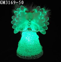 Special Lighted Fiber Optic Angels Figurines