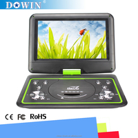 Deliver Fast Thin large screen 10.1 inch portable dvd player with two Hi-Fi Speaker