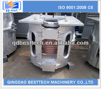 0-5t quality controled high efficiency electric copper melting induction furnace