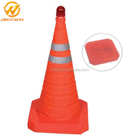Road Safety Security Collapsible PVC Inflatable Traffic Cone