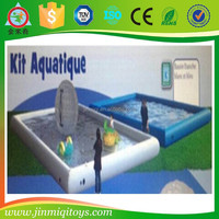 Trade assurance inflatable aqua park inflatable pool slide MQ-1508