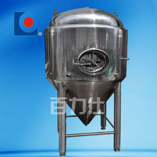 sanitary industrial jacketed home brewing equipment stainless steel conical fermenter for beer