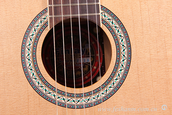 Chinese good quality manufacture classical gitarr wholesale 39inch Spruce/catalpa classical guitar beginer handmade guitar FC-18