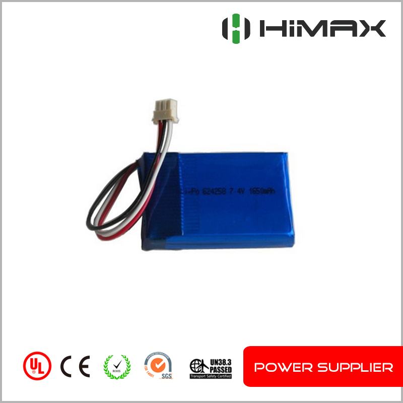 High quality 2S1P rechargeable 7.4v 700mah lipo battery pack