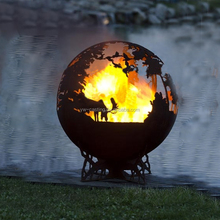 Hot Selling Cheap Price Sphere Fire Pit Outdoor