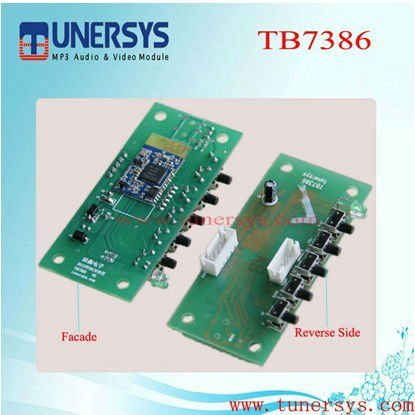 TB7386 usb interface car audio