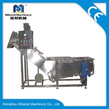 Industrial stainless steel surf bubble seabuckthorn processing/ washing and drying machine price