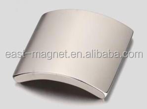 Zn/Ni coating strong ndfeb textile motor magnets