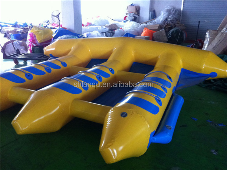 Popular water game inflatable flying fish of sale