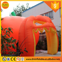 Giant Pumpkin Inflatable Tent For Halloween Decoration