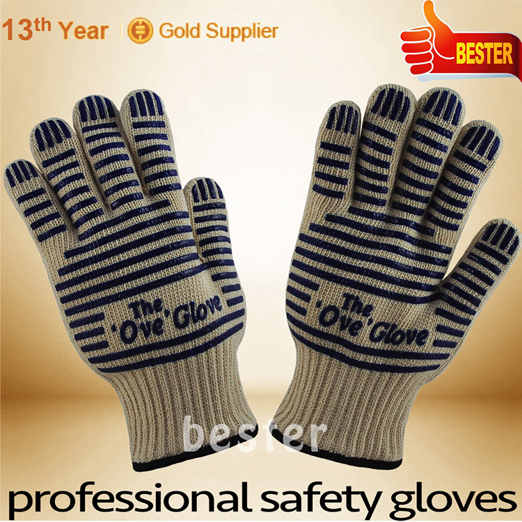China supplier manufacture high technology amazing heat resistant silicone glove
