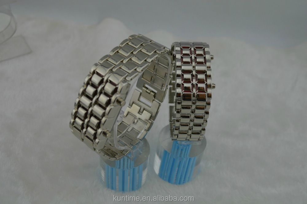 Intimate couple led wrist watch