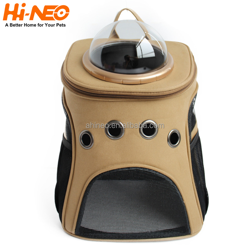 High Quality Cute Fashion Waterproof Pet Carrier Bag Indoor Outdoor Cat Dog Bags Cage