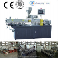 Haisi full fat soya twin screw extruder machine