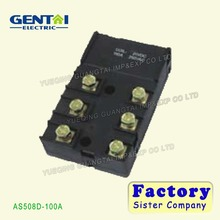 100A 12v dc Magnetic Latching Relay for grid or meter reading system
