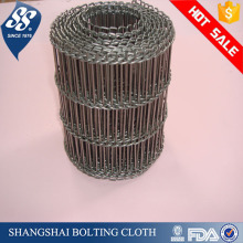 spiral cooling stainless steel conveyor belt