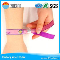 China factory good quality 13.56mhz silicon wristband for member management